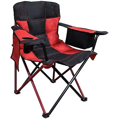Caravan Sports EQC01031, Cherry Red Elite Quad Chair : Garden & Outdoor