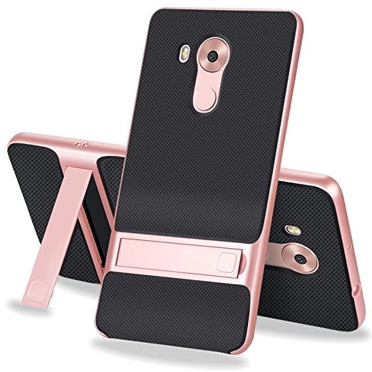 3 opinioni per MOONCASE Huawei Mate 8 Custodia, ibrida Morbido resistente agli urti + Bumper