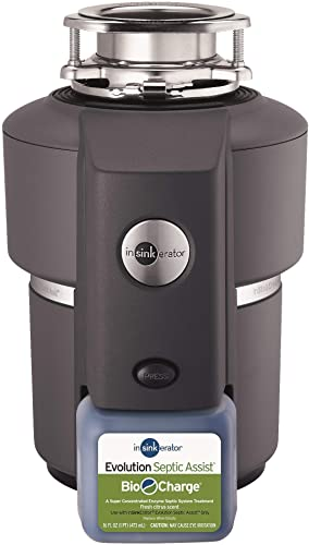 InSinkErator Evolution Septic Assist 3 4 HP Household Garbage Disposal