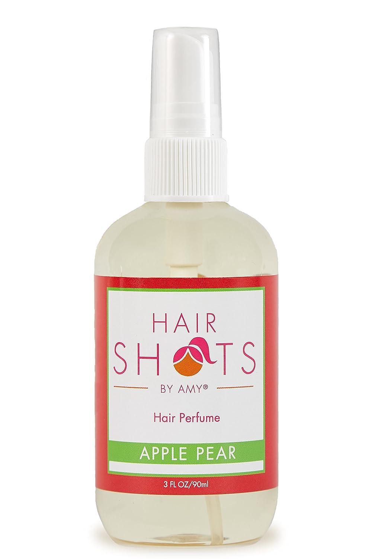Hair Shots Apple Pear Perfume Quality Heat Activated 3 oz Hair Fragrance