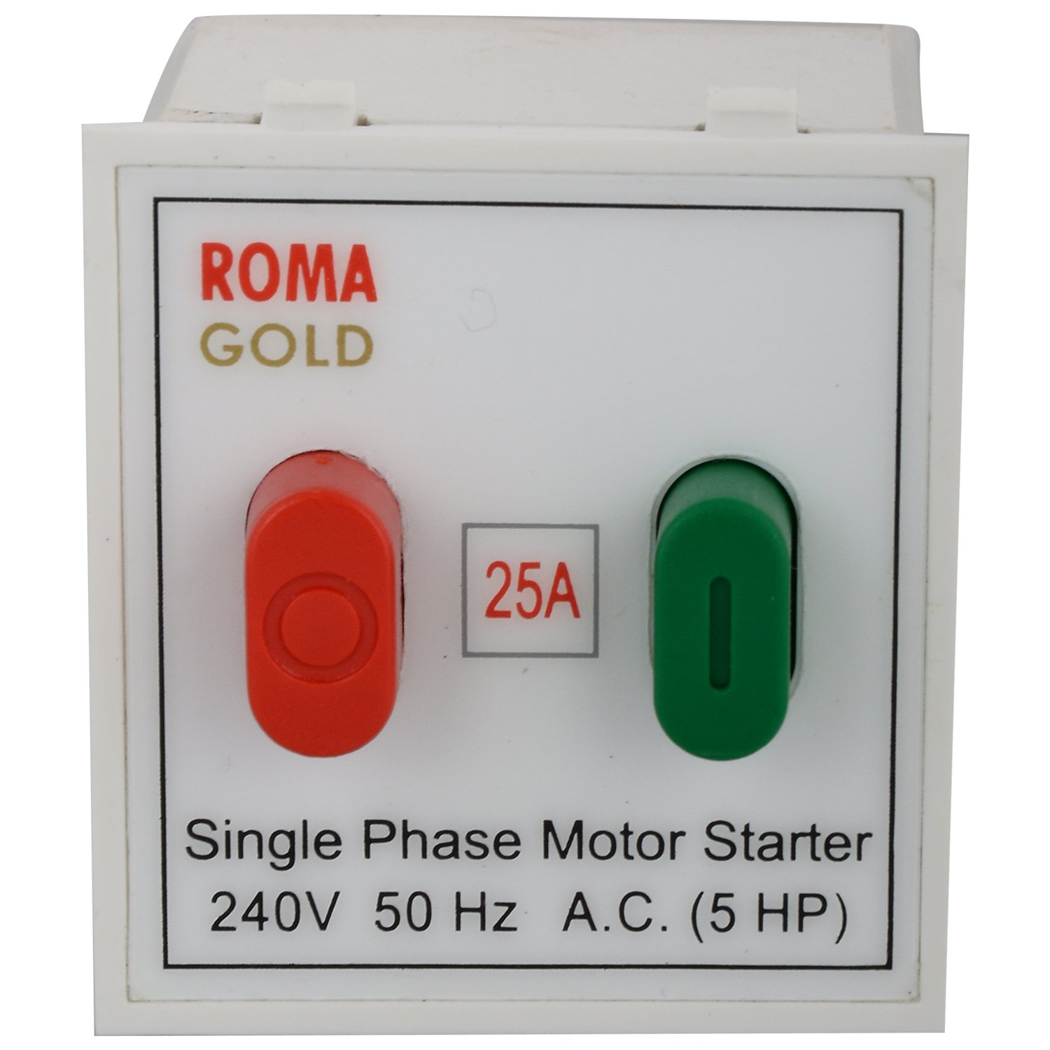 Anchor Roma Motor Starter Switch Sp 20405 White 25 Amp 240v Single Phase For Submersible Pump Home Improvement