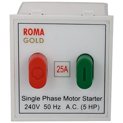 anchor roma motor starter switch s p 20405, white, 25 amp 240v AC Motor Starter Switch anchor roma motor starter switch s p 20405, white, 25 amp 240v