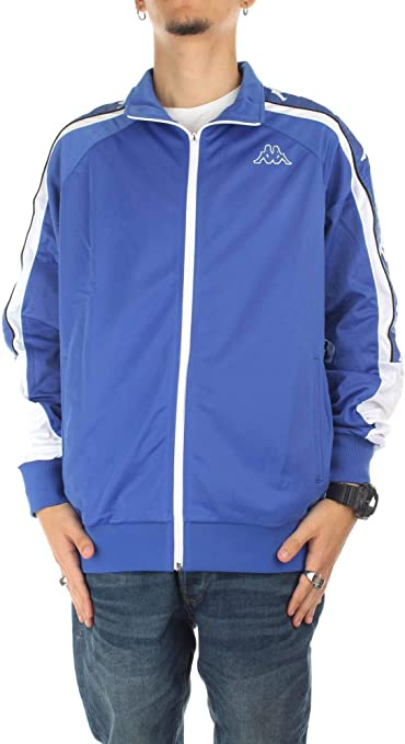 Kappa Ahran Authentic Chaqueta, Hombre, Azul: Amazon.es: Deportes y aire libre