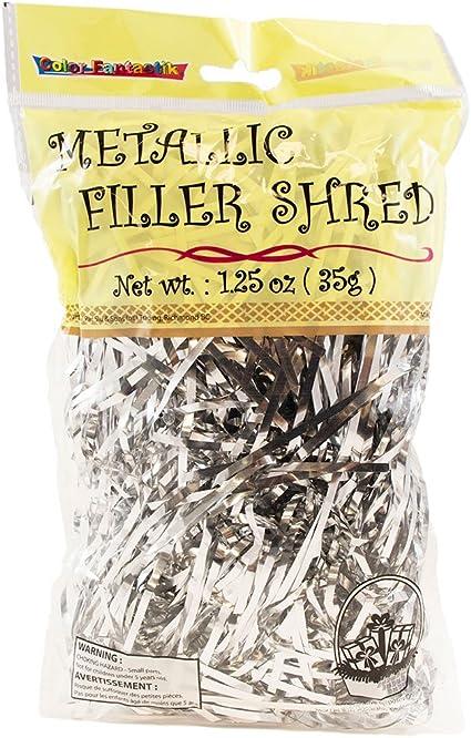 20 Grams Shiny Gold Foil Shredded Hamper Shred Gift Box Packaging Filler