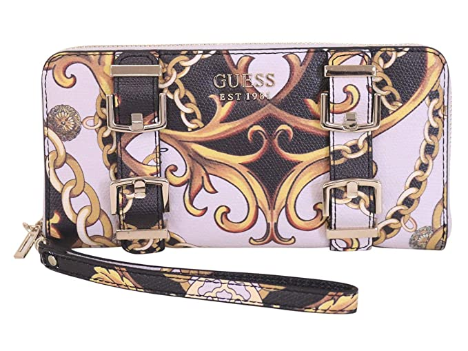 Amazon.com: GUESS Jori - Cartera grande con cremallera: Clothing
