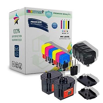 Amazon.com: inkuten bricolaje bricolaje HP 62 HP 62 X L ...