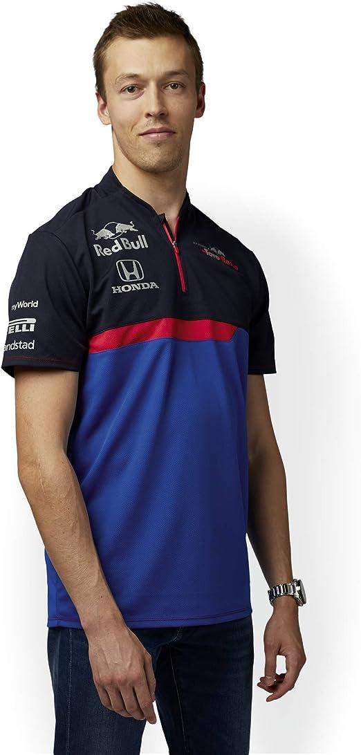 Red Bull Toro Rosso Official Teamline Functional Camiseta, Azul ...
