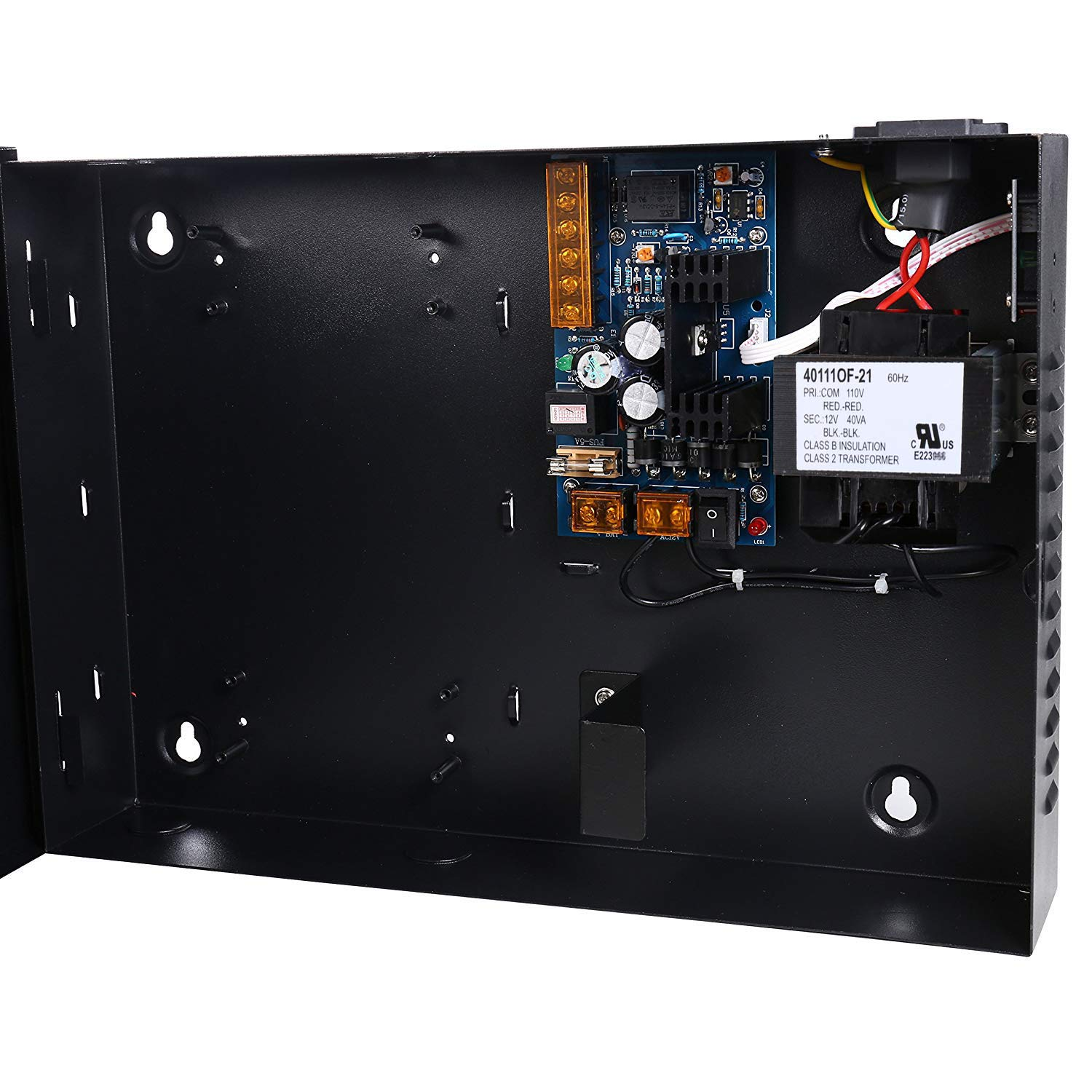 Commercial Grade Four Door Security Access Control Panel Including Power Supply With Backup Battery Link Industrial & Scientific