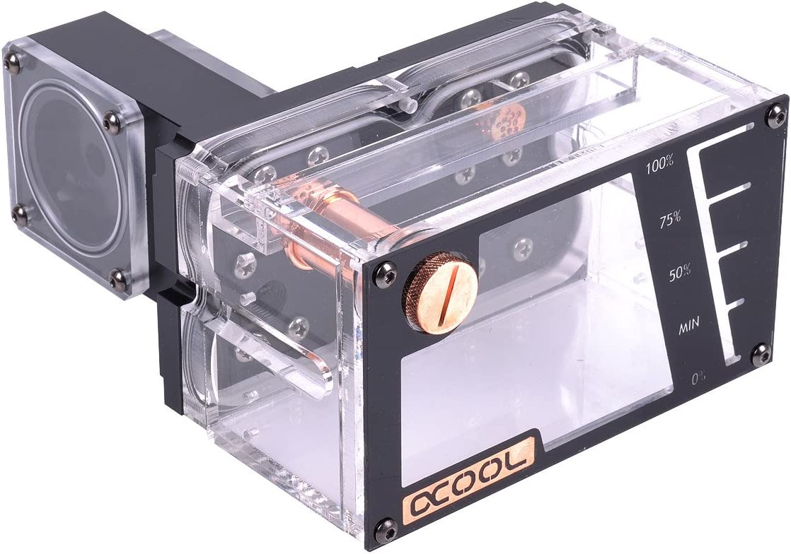 Alphacool 15040 Repack - Quad Laing DDC - Dual 5,25 Bay Station Water Cooling Reservoirs