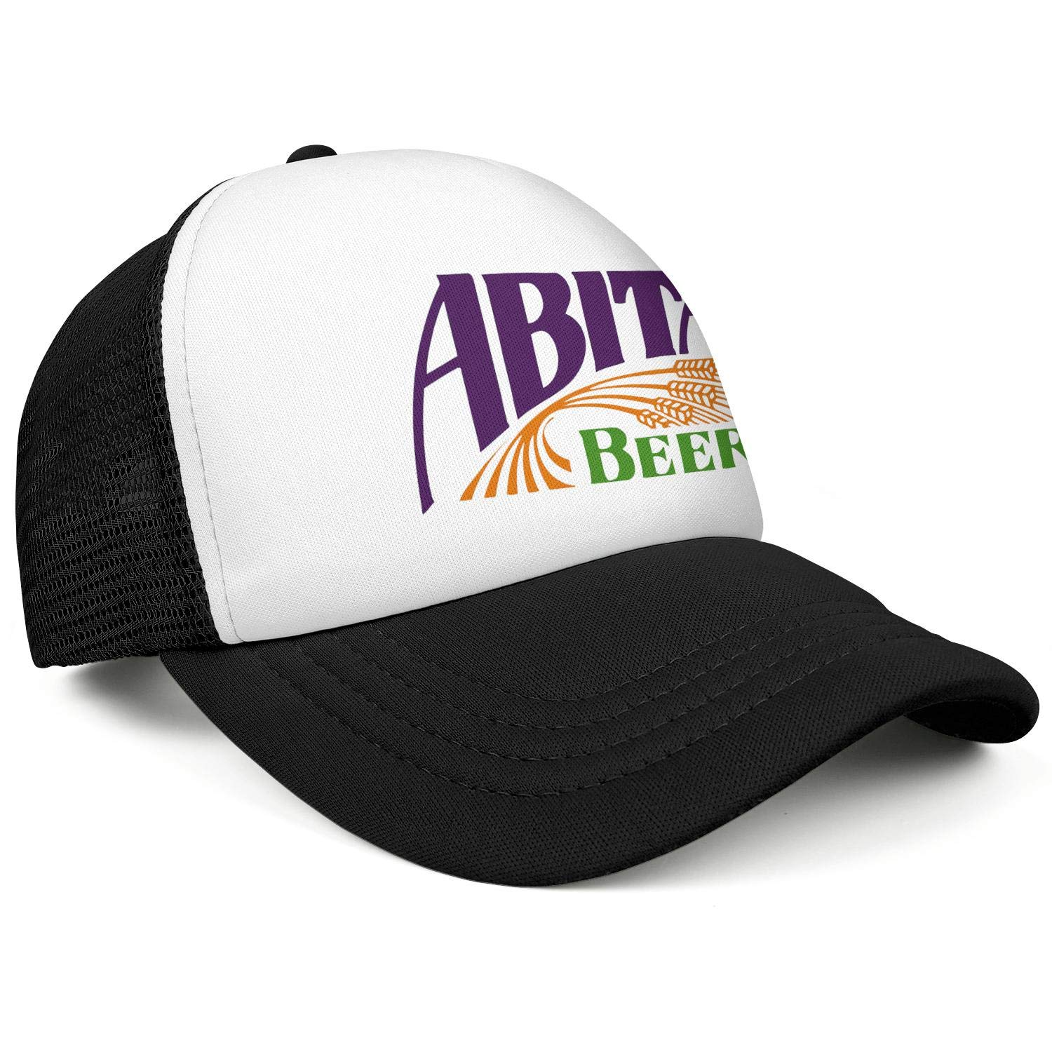 Mens Abita-Brewing-Logo Adjustable Baseball Cap Classic Trucker Hat Cotton Trendcaps