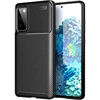 HEYUS for Samsung Galaxy S20 FE Case, Protective Carbon Fiber Case Cover Compatible with Samsung Galaxy S20 FE 5G…