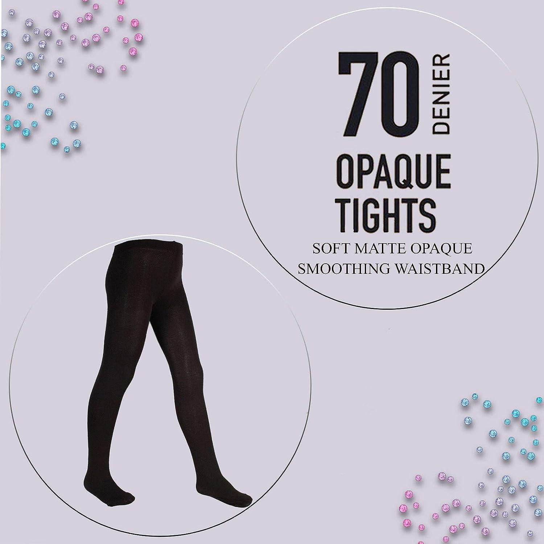 adam /& eesa Collant /élastique opaque pour femmes extensible et confortable en 6 couleurs 70 deniers