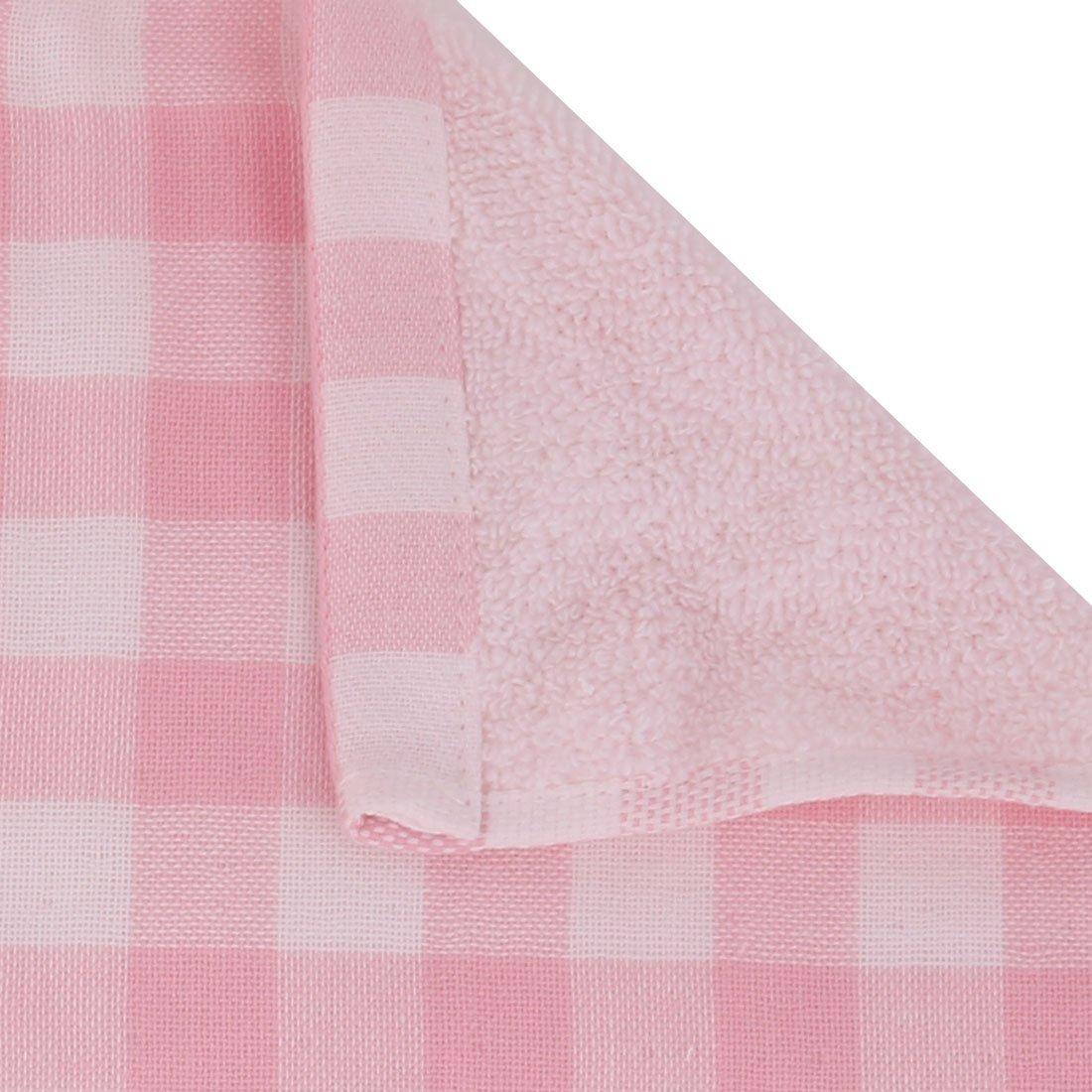 eDealMax cotonnades Lattice Motif ménages Hôtel Bath Spa Serviette 140cm x 70cm Rose