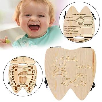 Amazon.com: gbell Souvenir caja de dientes para bebé Boy ...