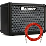 """Blackstar FLY3 BASS 3-Watt 1-Channel Solid-State 1x3"""" Bass Combo Amplifier with Overdrive + Cable"""