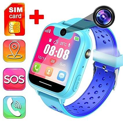 [Free SIM Card] Kids Smart Watch Phone, 1.44