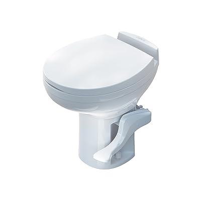 Aqua-Magic Residence RV toilet / High Profile / White - Thetford 42169: Automotive