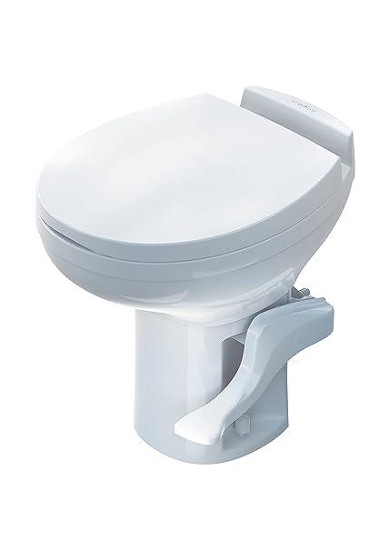 Amazon.com: Aqua-Magic Residence RV toilet / High Profile / White ...