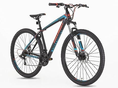 Bicicleta de montaña MTB de 21 velocidades, ruedas de 29 pulgadas ...