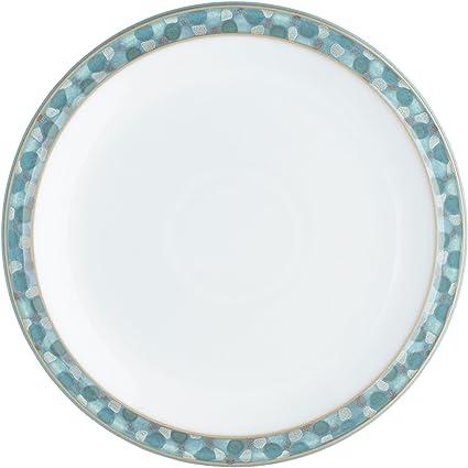"""9/"""" New!! Denby /"""" AZURE COAST /""""  Dessert//Salad Plate 22.5 cm"""