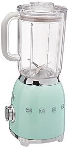 Smeg BLF01PGUS 50s Style Blender, Pastel Green