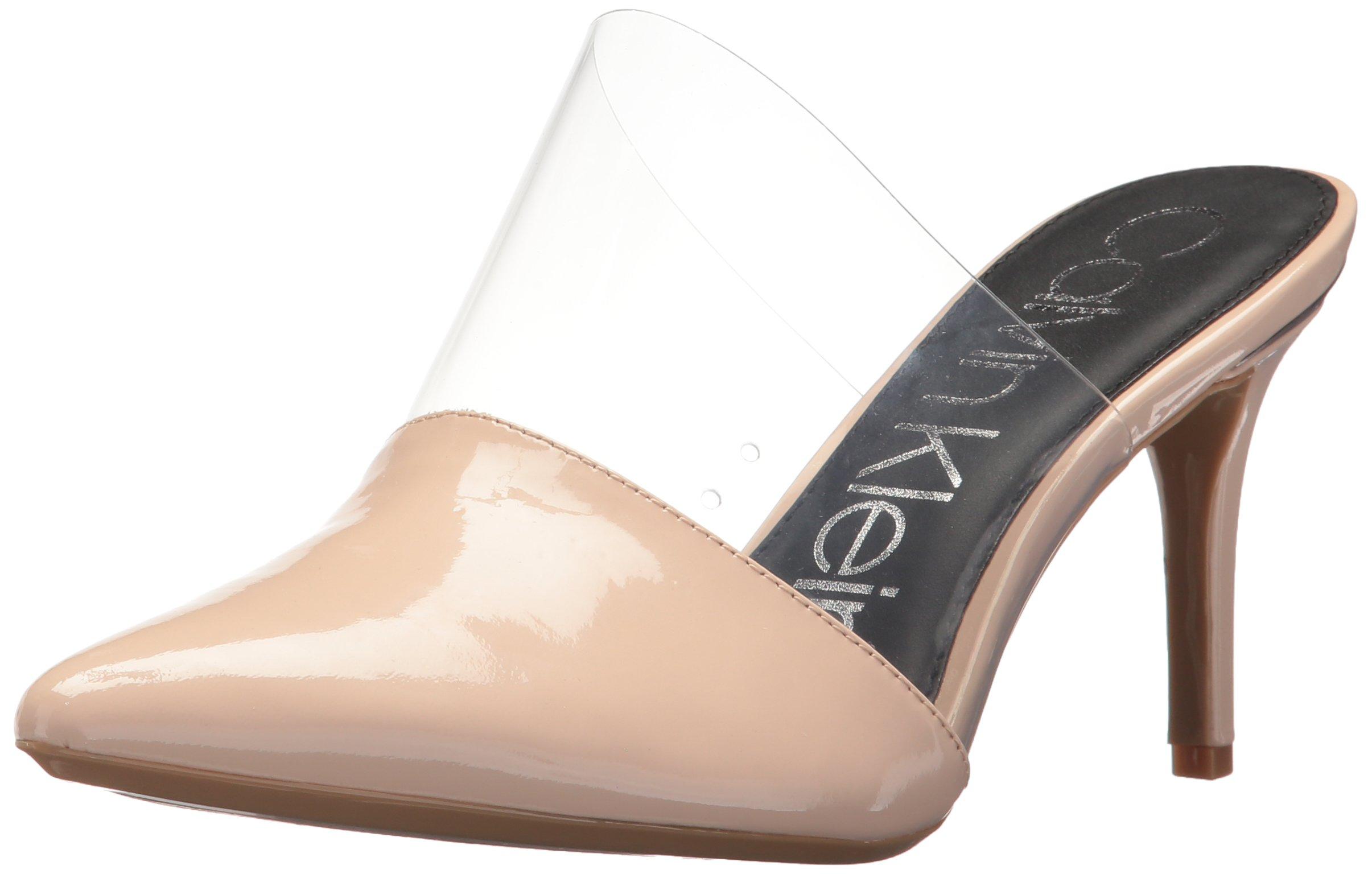 Calvin Klein Women's Graycie 2 Pump, Sheer Satin, 5.5 Medium US
