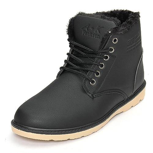 Botas para Hombre, Gracosy Invierno Botas Casual Martín Zapatos Botines para Hombre Nieve Botas los
