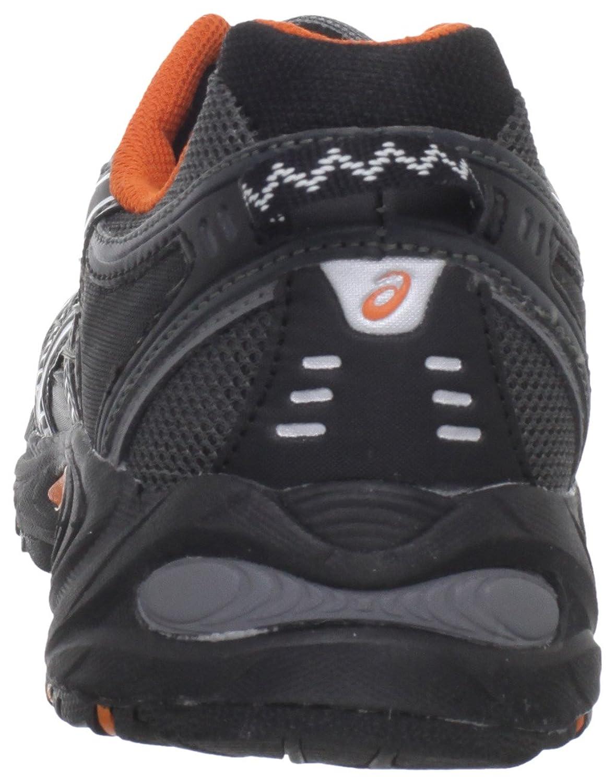 Amazon.com | ASICS Men's GEL-Venture 3 Trail Running Shoe, Charcoal/Black/Orange,  9.5 M US | Trail Running