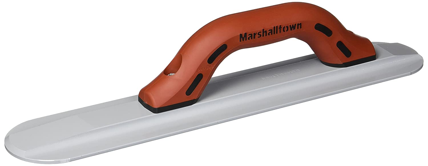 MARSHALLTOWN The Premier Line 143D 16-Inch by 3-1/8-Inch Round End Magnesium Hand Float with DuraSoft Handle