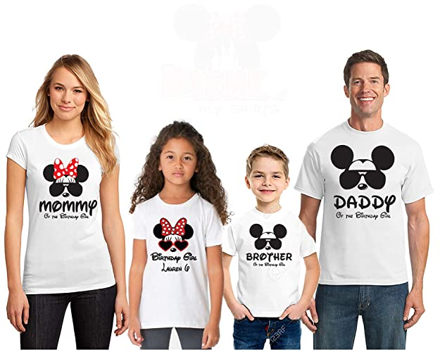 Amazon Mickey Theme Birthday ShirtDisney Matching Tshirt For BirthdayMommy Daddy Of The Boy ShirtD2 Handmade
