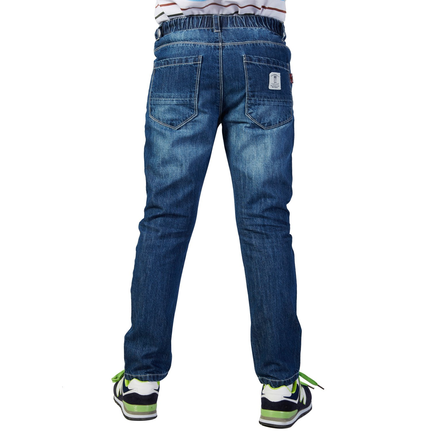 Leo&Lily Big Boys' LLB632-8-Dark Blue-Mfn, Dark Blue, 8