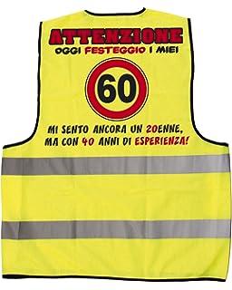 Fascia Premio Compleanno 60 Anni Articolo Idee Regalo Amazon It