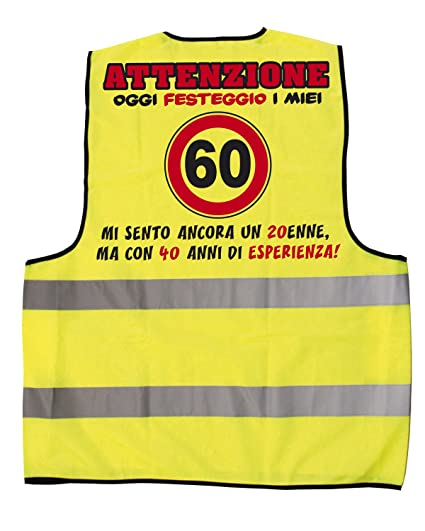 Bombo Gilet Compleanno 60 Anni