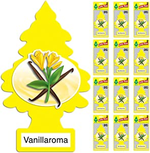 LITTLE TREES Car Air Freshener | X-tra Strength Provides Long-Lasting Scent for Auto or Home | Extra Boost of Fragrance | Vanillaroma 24 count, (12) 2-Packs