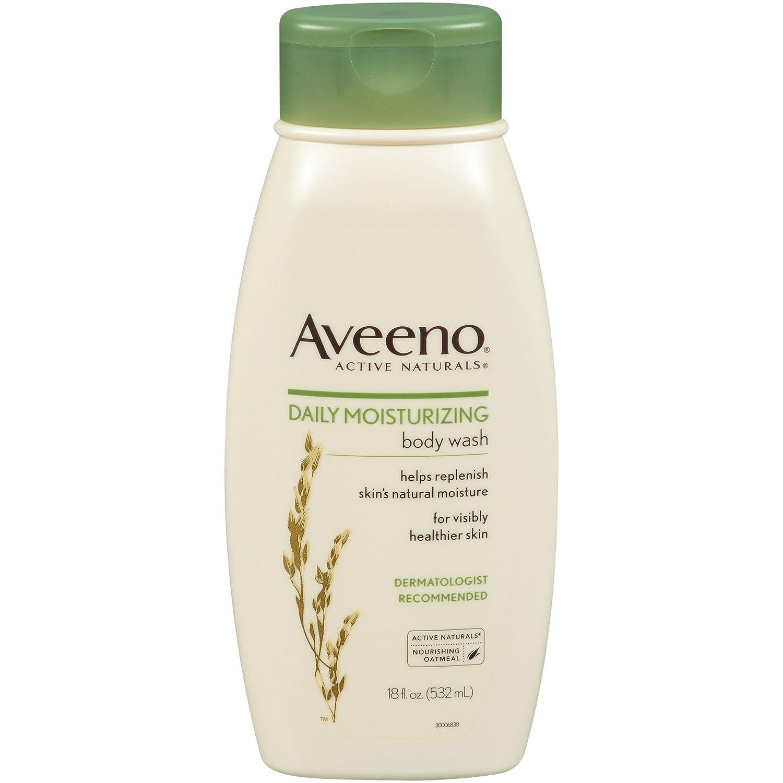 Aveeno Daily Moisturizing Body Wash, 18 Fl Oz (Pack Of 3)
