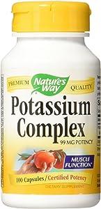 Nature's Way Potassium Complex, 100 Caps