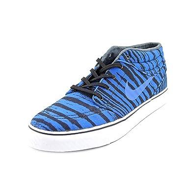 Nike Mens Stefan Janoski Mid Prm Sneakers Base Grey/Black/White 39 D(M) EU/6 D(M) UK