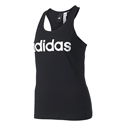 adidas Ess Li Sli Tank Camiseta, Mujer, Negro (Black), 2XS