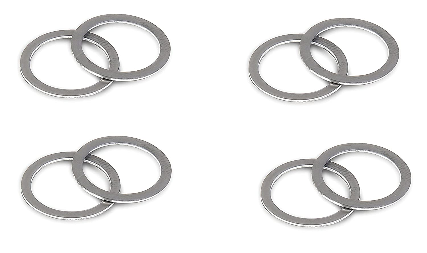 Pack of 2 Holley 108-1 Fuel Bowl Inlet Fitting Gaskets