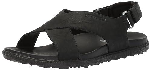 2ff639287b49 Merrell Women s Around Town Sunvue Strap Flat Sandals  Amazon.ca ...