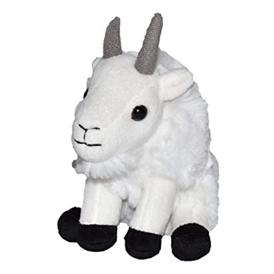 "Wild Republic Mountain Goat Plush, Stuffed Animal, Plush Toy, Kid Gifts, Cuddlekins 5"": Toys & Games"