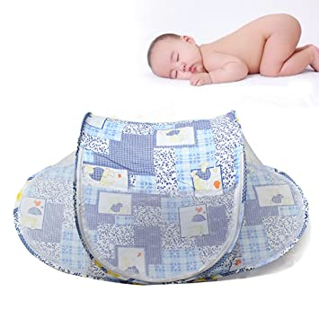 Portable Foldable Baby Mosquito Tent Travel Infant Bed Net Instant Crib // Nuevo mosquito bebé  sc 1 st  Amazon.com & Amazon.com : Portable Foldable Baby Mosquito Tent Travel Infant ...