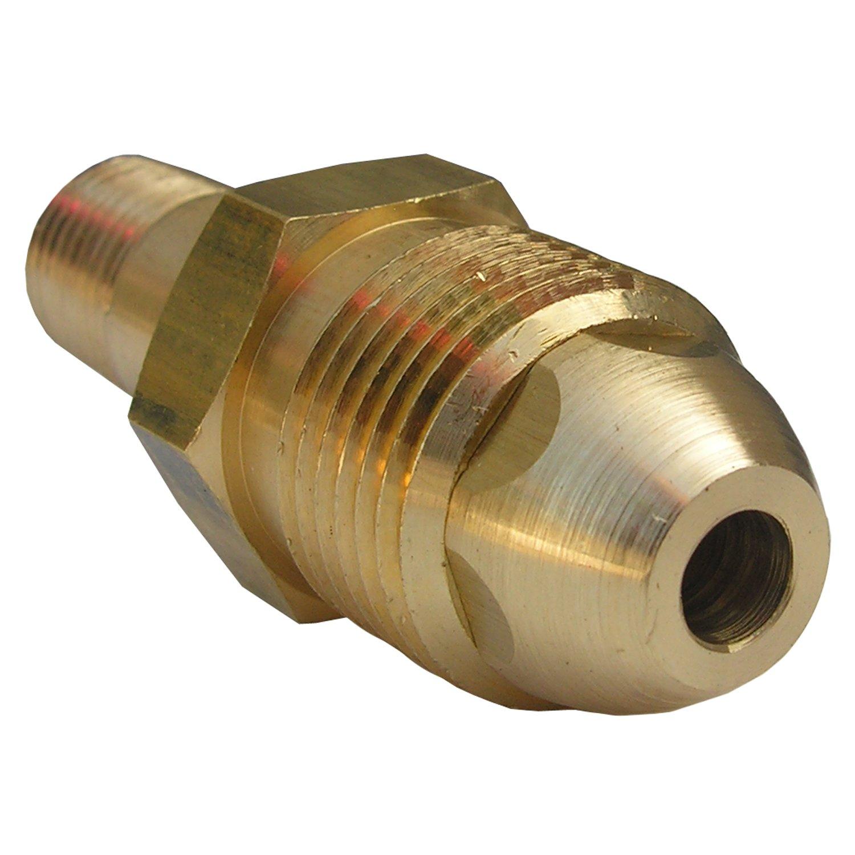 LASCO 17-5325 1//4-Inch Female Pipe Thread POL Brass Connector