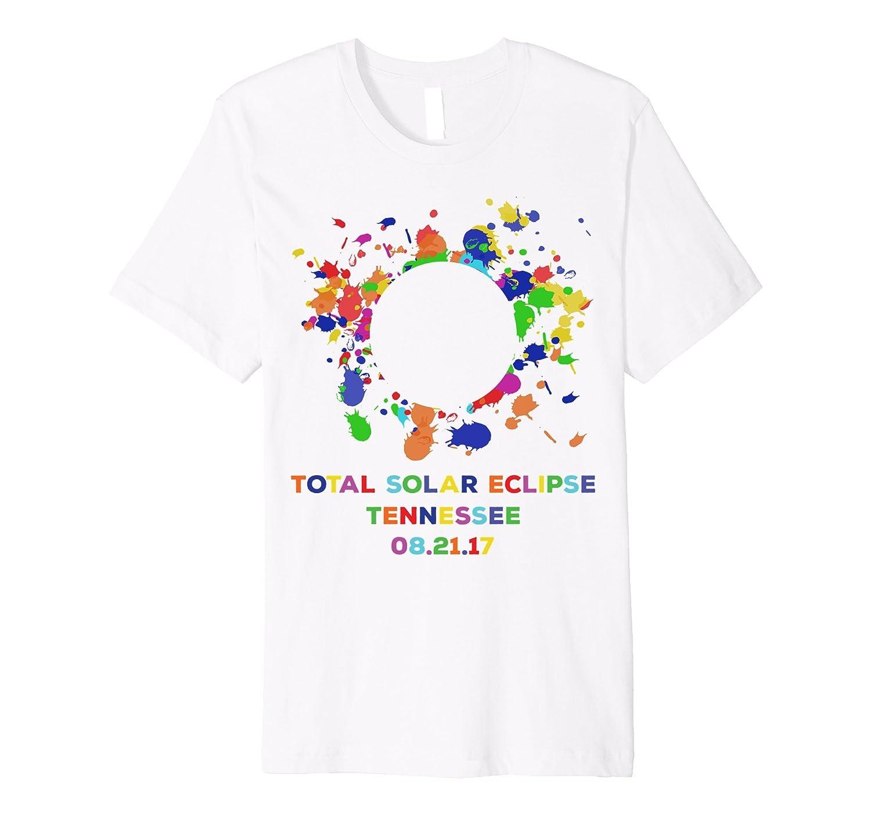 5e0e615d4 Colorful Total Solar Eclipse 2017 T-Shirt, Premium Souvenirs-BN ...