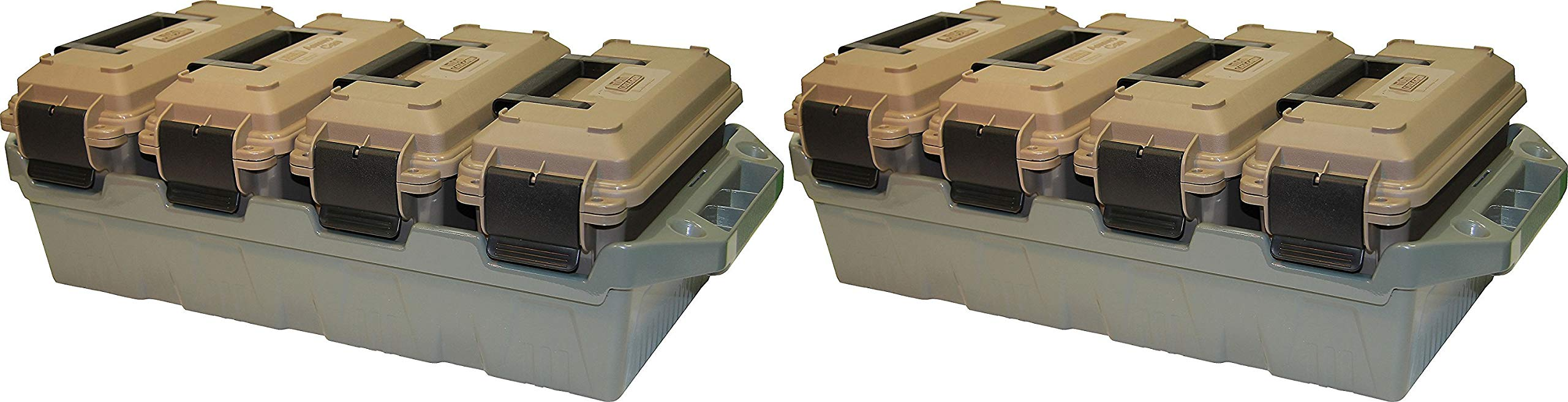MTM AC4C Ammo Crate (4-Can), 2 Pack