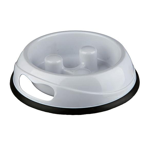 Trixie Comedero Plástico Comer Despacio, 0.9 l, ø23 cm: Amazon.es: Productos para mascotas