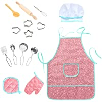 Twister.CK Childrens Chef Outfit Set, Impermeable para niños