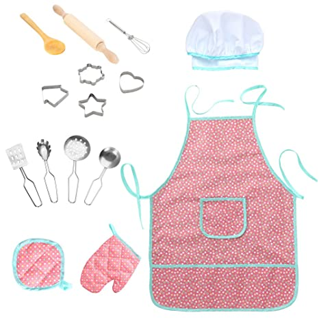 Twister.CK Childrens Chef Outfit Set 8fa0e7216f31