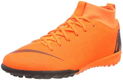 d2e427ceb78 Nike Youth SuperflyX 6 Academy GS Turf Shoes  Total Orange  (3Y)