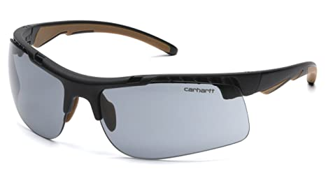 8b661e776e Amazon.com  Carhartt Rockwood Safety Sunglasses with Gray Anti-fog ...